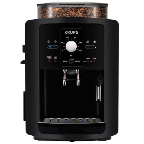 eBay WoW: Krups EA 8000 Espresso Kaffee Cappuccino Vollautomat Kaffeemaschine Schwarz Bestpreis 222,- inkl. Versand