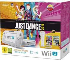 Wii U Just Dance 2014 Basic Pack, white ( incl. Nintendo Land) @ Amazon