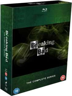 Zavvi Breaking Bad Staffel 1-5 [Blu-Ray] für 57,60€