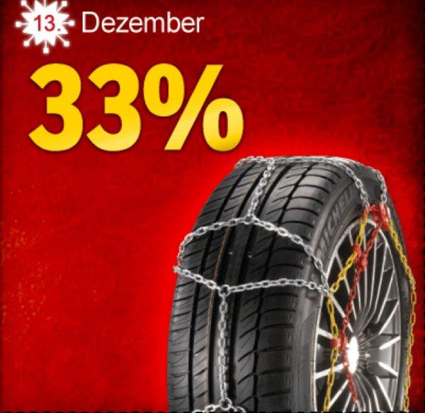 ATU | Adventskalender Samstag | 33% auf alle Schneeketten