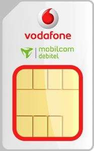 vodafone mobilcom debitel allnetflat vertrag für  24 x 25 euro mit handy