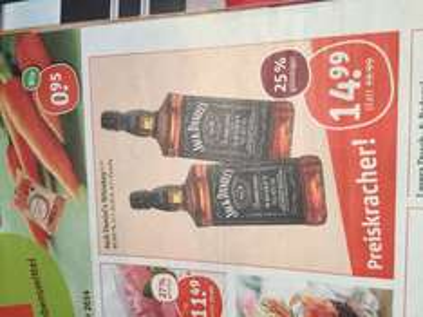 (Tegut) Jack Daniel's Whiskey 14,99€