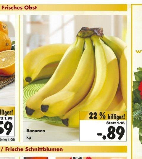 [KAUFLAND BY+BW (KW51)] Bananen für 0,89€/kg