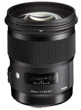 Sigma 50mm f1.4 DG HSM A [Canon] oder [Nikon] für 655,15 € @Amazon.fr