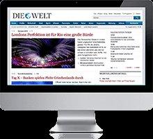 DIE WELT Digital (Welt am Sonntag inklusive) für 2 Monate gratis