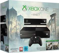 [Amazon.de] Xbox One mit Kinect + AC Unity & AC Black Flag