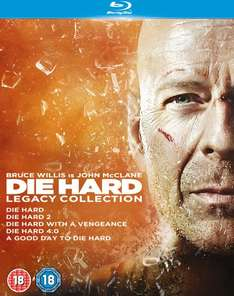 Die Hard 1-5 Stirb Langsam 1-5 Legacy Collection Blu-ray