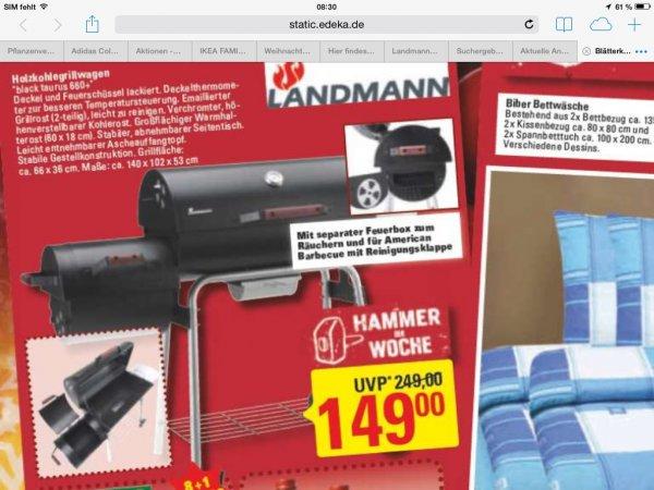 [MARKTKAUF] Landmann Black Taurus 660 + 149,00€ Regional HB Stuhr ?
