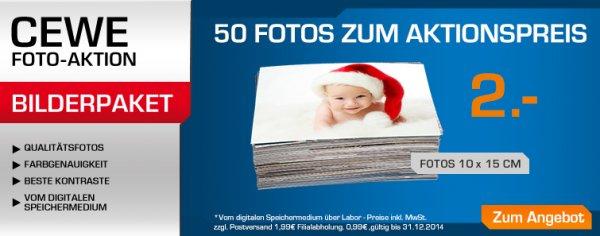 Saturn: Cewe Premium 10x15 Fotoabzüge ab 0,04€ (min. 50 Stk.) online/offline