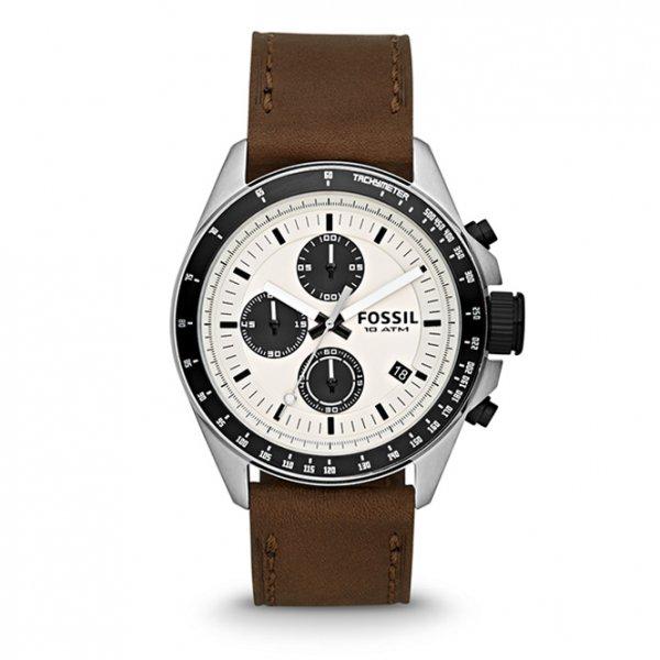 [Amazon Marketplace] Fossil Decker CH2882 Edelstahl-Chronograph mit Lederarmband für 69,90€ incl.Versand