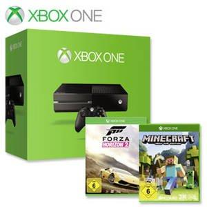 [real][bundesweit?] XBOX One (ohne Kinect) + Forza Horizon 2 + Minecraft [online/offline]