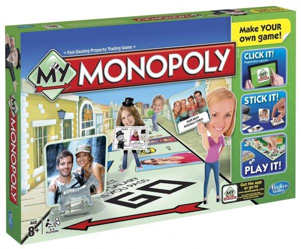 Hasbro A8595100 - My Monopoly, Familien-Brettspiel, englische Version für 8,19 Euro (Versand 6,59 Euro) @Amazon.co.uk