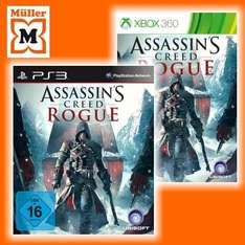 [PS3 / XBox 360] Assassin's Creed Rogue für 30,- € @Müller (Filiale) am 15.12. (Adventskalender)