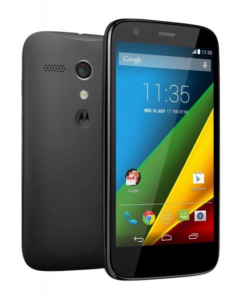 Moto G 4G 8GB LTE schwarz für £125.72 / Lieferung: 17./18. Dez. [amazon.co.uk]