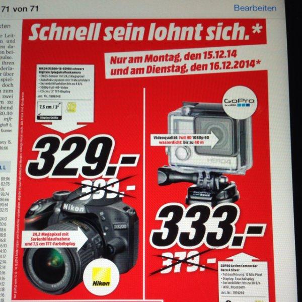GoPro Hero 4 Silver lokal Media Markt Trier