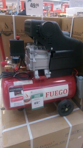 offline: fuego kompressor bis 8 bar 24l (lokal M?)