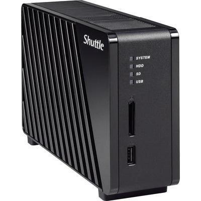 Shuttle NAS-Server Gehäuse Omninas KS10 1 Bay inkl. Vsk für 44,99 € > [digitalo.de]
