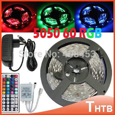 ----LED Strip GUIDE---- + gutes Angebot für 5m LED Strip Komplettpaket: 5050er SMD, 44key Controller, 6A Netzteil (Versand aus China)