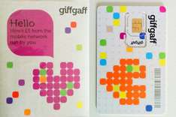 giffgaff UK Sim-Karte 4G LTE für 1,26€ inkl.VSK + £5 Gratis Guthaben nach Aufladung [ebay uk]