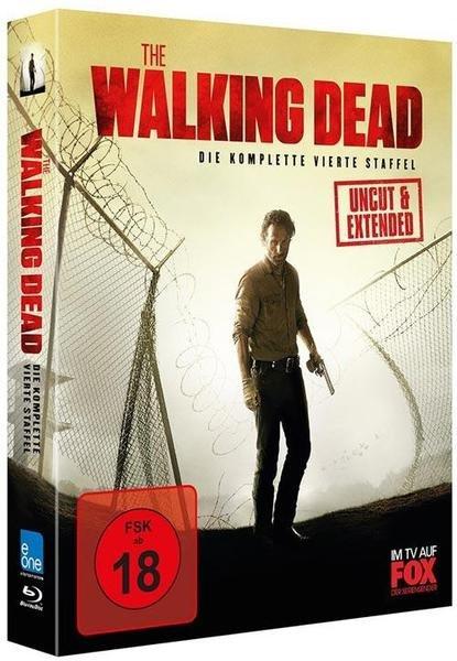 [Blu-ray]  The Walking Dead - Die komplette vierte Staffel (Uncut & Extended, 5 Discs) @ Buch.de