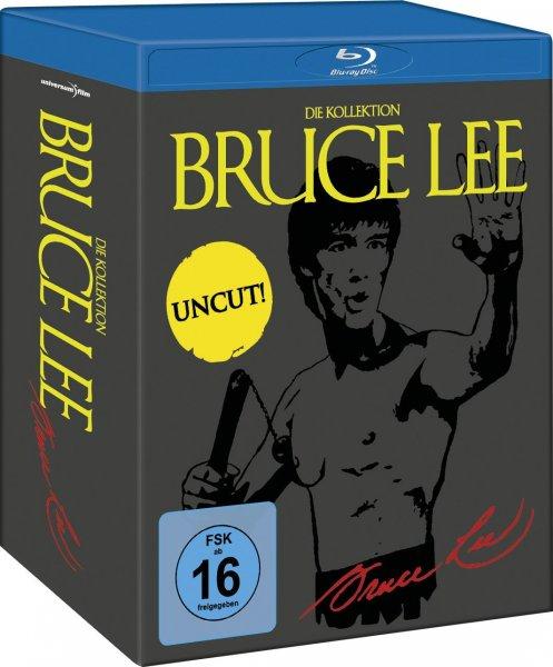 Bruce Lee - Die Kollektion - Uncut [Blu-ray] inkl. Vsk für 20,98 € > [media-dealer.de]