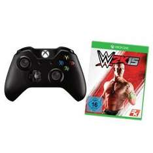 XBOX One Wireless Controller + WWE 2K15 bei redcoon mit Zahlungsart Klarna