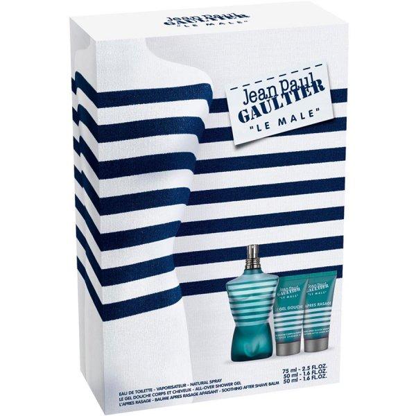 [parfumdreams.de] Jean Paul Gaultier Le Male 75ml (2 verschiedene Geschenksets + Zugabe) für nur 25,76€