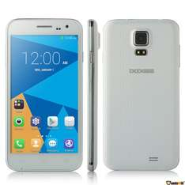 DOOGEE DG310 5'' Zoll IPS 3G Smartphone Android 4.4 MTK6582 1.3GHz Quad Core Dual SIM 1G+8G OTG OTA GPS WIFI Handy ohne Vertrag Weiß