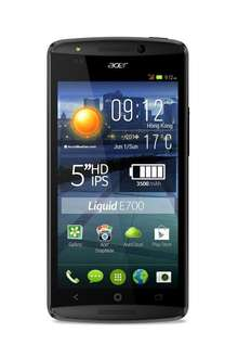 "Acer Liquid E700 [An­dro­id 4.4, (5"") HD-Dis­play, 1,3GHz QuadCore, Tri­ple-SIM] für 154,75€ @Amazon.fr"