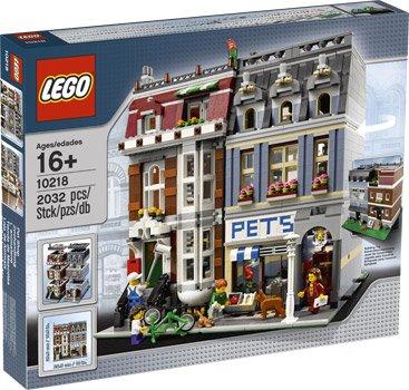 [Intertoys] LEGO 10218 Pet Shop / Zoohandlung für 124,99€