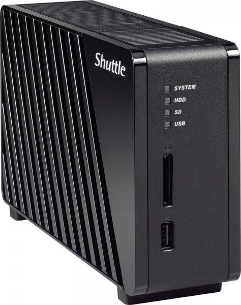 Shuttle NAS-Server Gehäuse Omninas KS10 1 Bay fast 50% unter Idealo