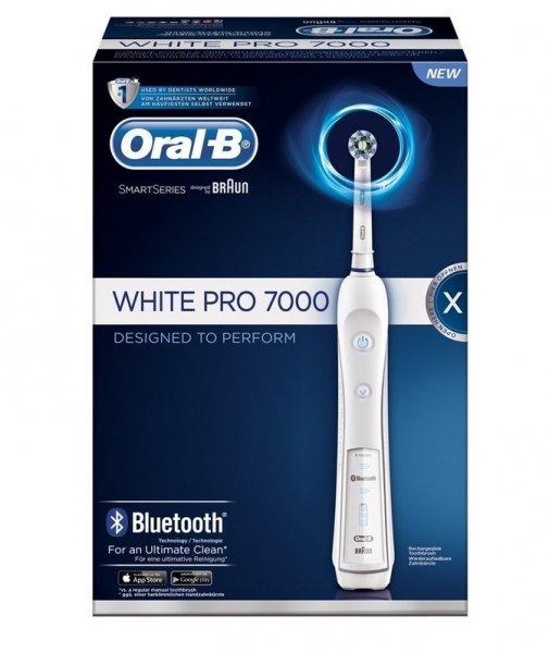Braun Oral-B PRO 7000 elektrische Premium-Zahnbürste mit Bluetooth, weiß @ Amazon 118,99