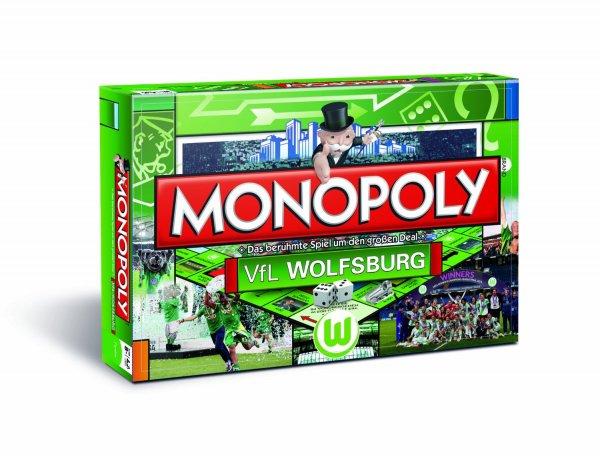 Für echte Fans: Monopoly VfL Wolfsburg für 9,99 (-65%)