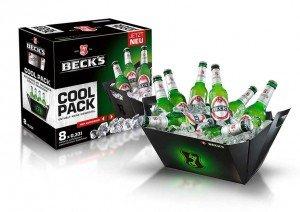 [Lokal]  Becks 8x0,33 Cool Pack 1,12€ Kaufland Freiberg