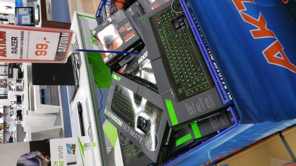 Razer Blackwidow Ultimate 99€ Berlin kudamm Satur