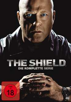 [Amazon] The Shield Komplette Serie 28 DVDs 17,97 Euro inkl. Strafversand