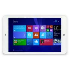 "i.onik 8"" Windows Pad White Edition 1GB, 16GB, Windows 8.1 inkl. Office @rakuten für 111,44€"