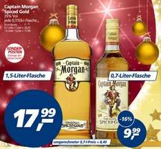 [Bundesweit Offline] Captain Morgan Spiced Gold 1,5L 17,99Euro Bei Real