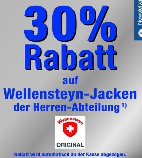 Metro: 30% auf Herren-Wellensteyn Jacken (nur am 27.12.14)