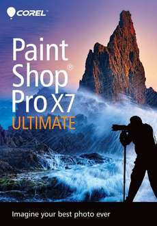 PaintShop Pro X7 Ultimate [Download / Deutschsprachig / Amazon.com]