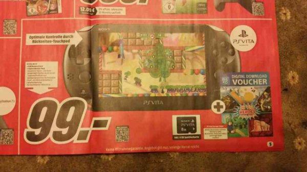 PS Vita Slim Megapack inkl. 8GB Speicherkarte und Spiele DLC