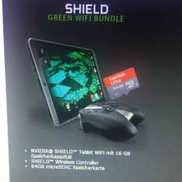 NVidia Shild Tablet 16gb + Controller + Speicherkarte 64gb (+ggf greenbundle)