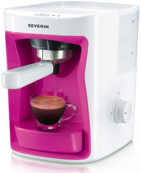 SEVERIN KA 5993 - Espressomaschine in Pink 57,- € (Saturn.de) nächster Preis Idealo ab 75,-€