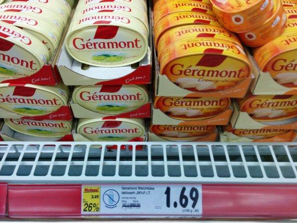 KAUFLAND - Geramont Weichkäse für 1,69€ statt 2,29€