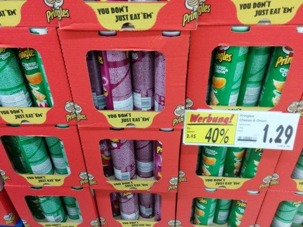 KAUFLAND - Pringles für 1,29€ statt 2,15€