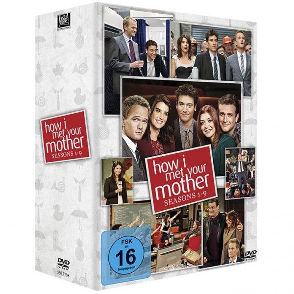 How I Met Your Mother - Komplettbox Season 1-9 @ Buecher.de