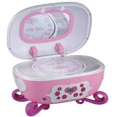 "Disney P500BE Princess - Boombox ""Jewelry Box"" - Kinder CD-Player [redcoon - Adventskalenderdeal]"