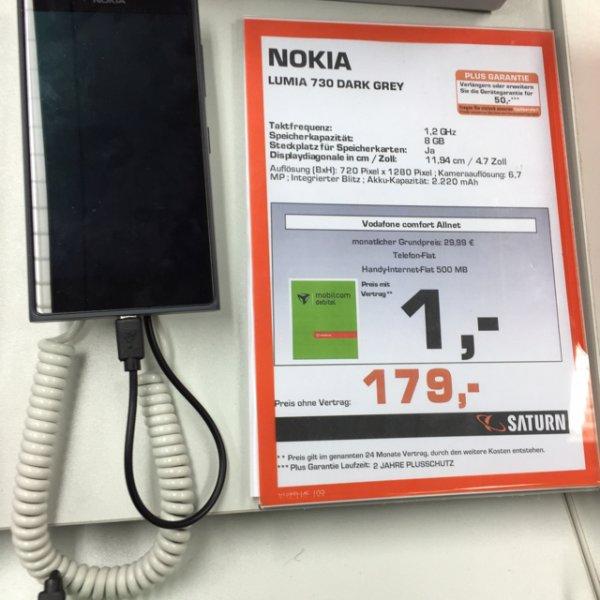 [Lokal?] Nokia Lumia 730, Saturn Köln Hohe Str.