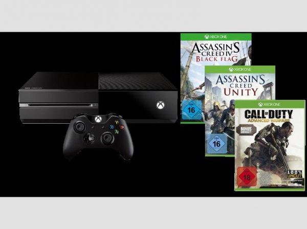 [Media Markt] Xbox One inklusive drei Spielen für 399,00 EUR