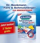 Dr. Beckmann - 2 x Farb & Schmutzfänger mit Mikrofaser Kostenlos